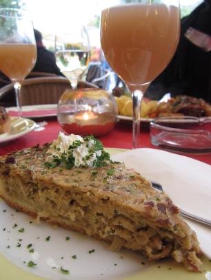 Zwiebelkuchen in Germany