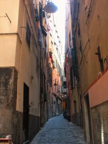 Small streets in Genoa