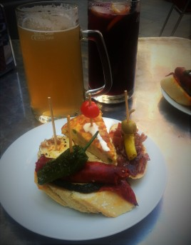 ... and more pinchos