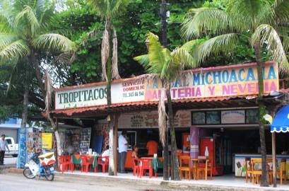 Small restaurants everywhere