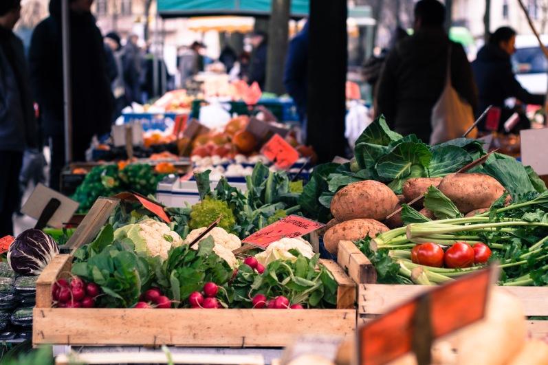 Boxhagener platz market