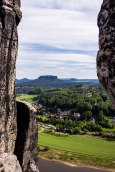 View from the Bastei